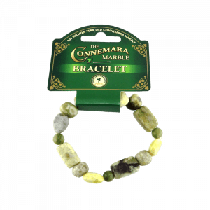 45614 – Multi Bead Marble Stretch Bracelet