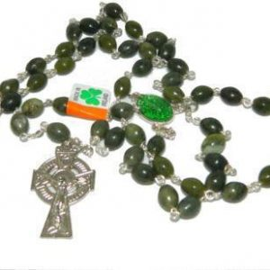 Connemara Marble Pope Francis Rosary